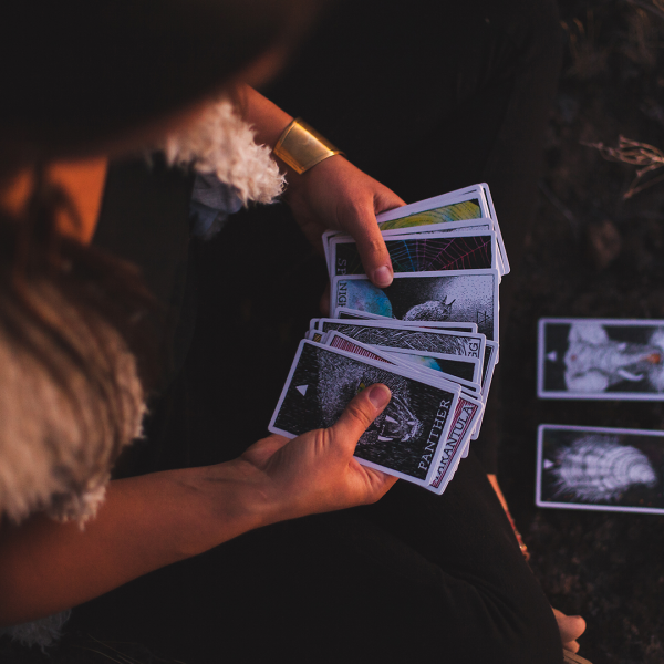Tarot reading, oracle cards, and practical magic with Sharon Balsamo and The Waking Journey