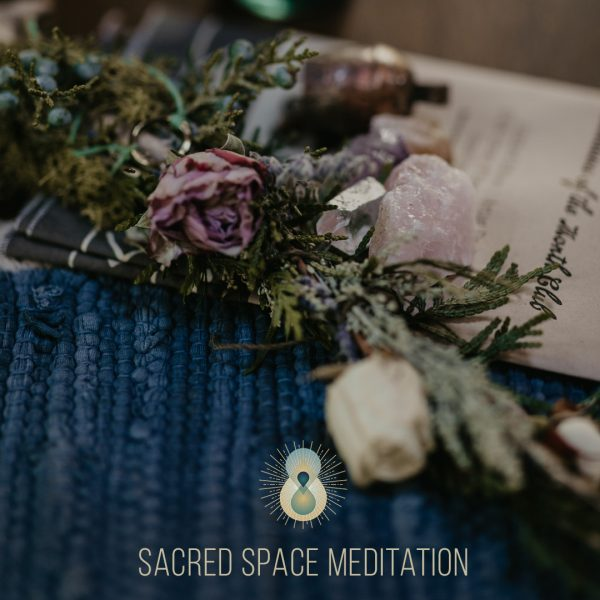 Sacred Space Meditation by Sharon Balsamo at The Waking Journey